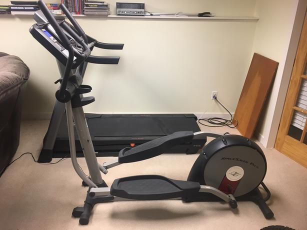 NordicTrack Elliptical SpaceSaver Plus