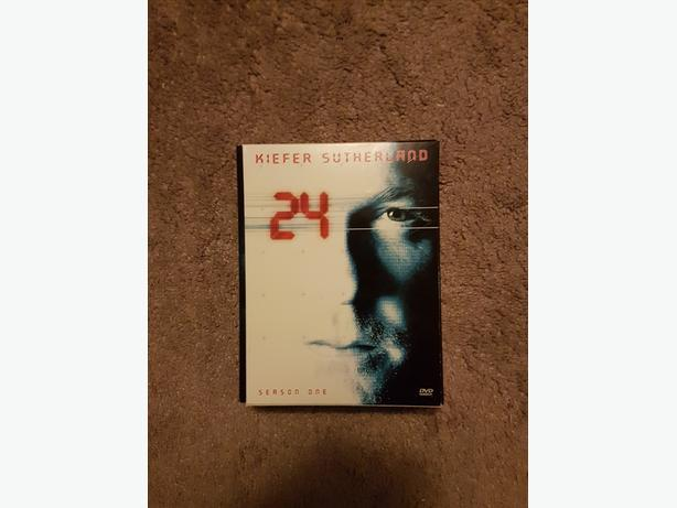 24 Season One DVD Box Set (6 DVDs)