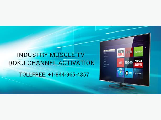 Call Us +1-844-965-4357 To Activate The Industry Muscle TV On Your Roku