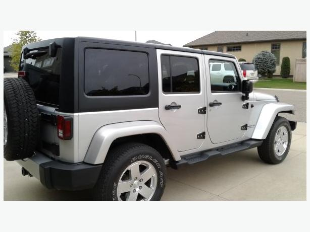 2012 Jeep Wrangler 4 door Sahara