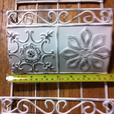White Vintage-Look Magazine Holder Rack & Wall-Mount Letter Organizer 2PC Mixed