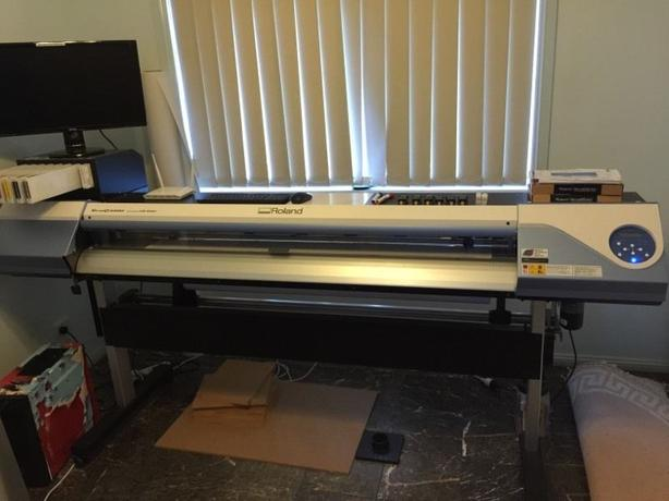 Roland VersaCAMM VS-640i Wide Format Printer Cutter