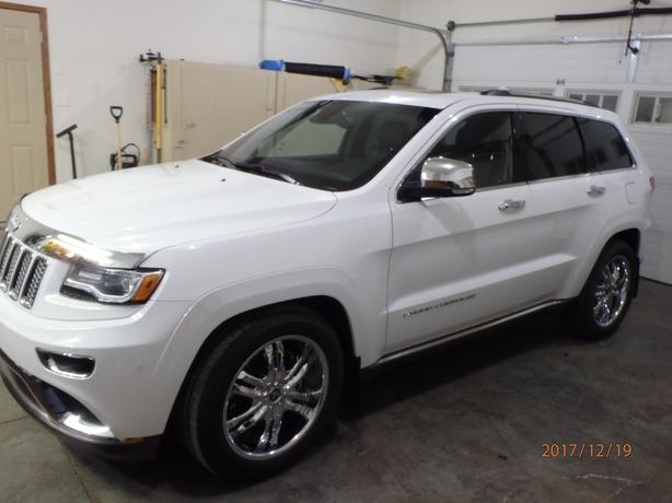 2014  JEEP GRAND CHEROKEE SUMMIT 4X4 (DIESEL)