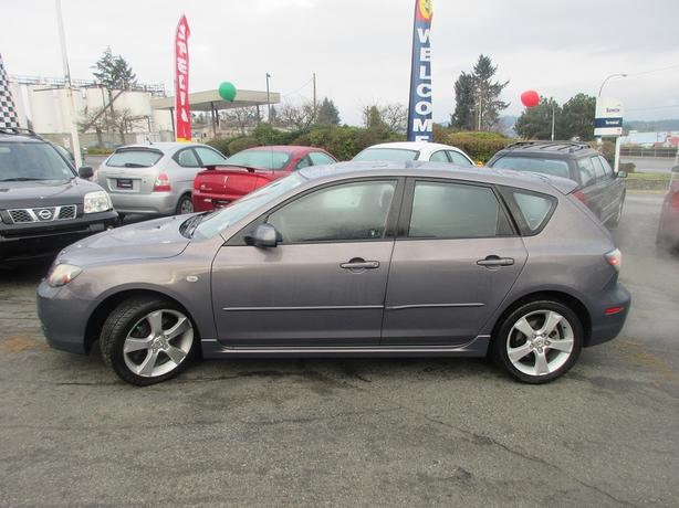 ON SALE! 2007 MAZDA 3 SPORT 2.3L I4-BC ONLY! NO ACCIDENTS!