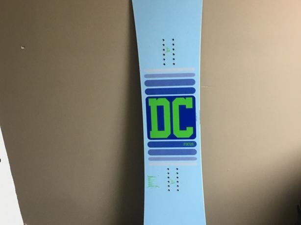 Dc focus 149 snowboard