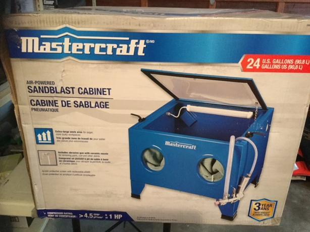 New Mastercraft Sandblast Cabinet