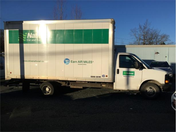 2015 Chevrolet Express 16 Foot Cube Van