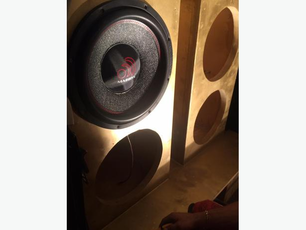 High end car audio equipment at a great price*Massive Audio*