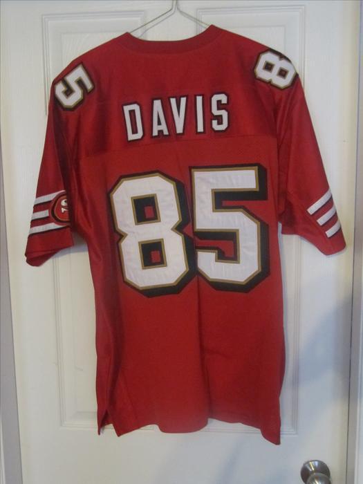 Vernon Davis SF 49ers Jersey. All Stitched. Men  39 s L West Shore   Langford 046d7c404