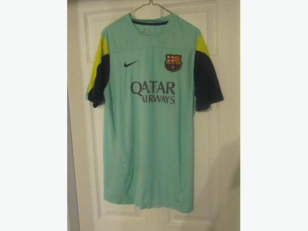 reputable site bace4 02adb  Log In needed $125 · 2013/14 Barcelona FCB Nike Jersey. RARE ALTERNATE  Jersey. Men's XL