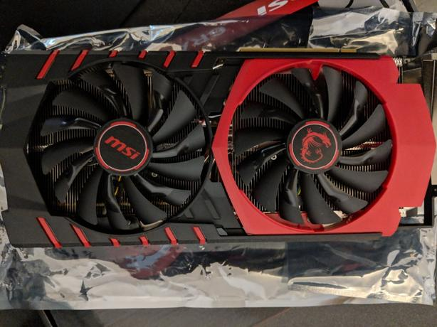 MSI R9 390 Graphics Card - Lightly Used, Like New Condition