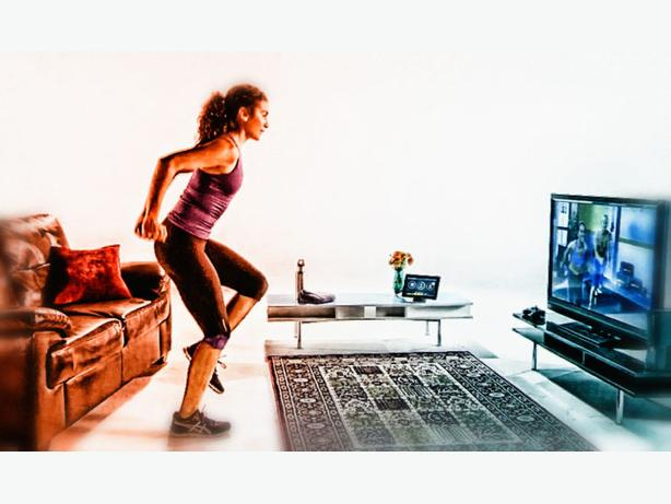 Exercise at Home with Roku Device