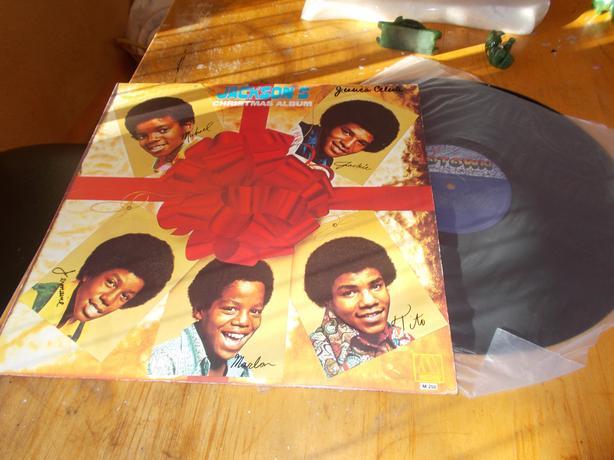 Cool Vintage Jackson 5 Michael Jackson Christmas Album