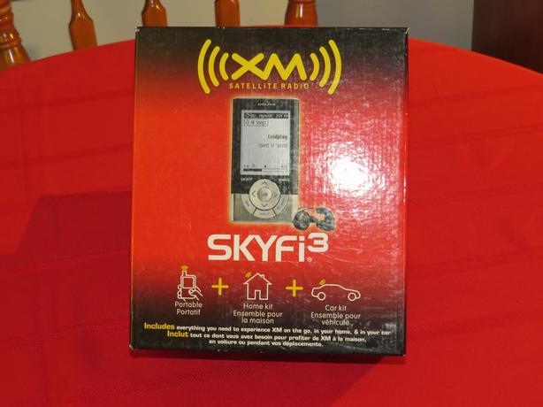 XM (SKYFI3) SATELLITE RADIO DIGITAL AUDIO PLAYER FOR SALE