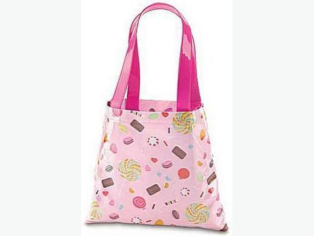 Sweet Treat Candy Print Shoulder Tote Bag Brand New Pink