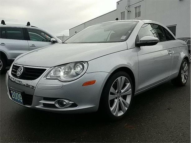 2009 Volkswagen Eos 2.0 TSI Silver-Red Edition