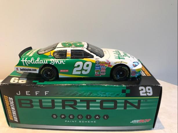 Jeff Burton Holiday Inn #29 1:24 Scale Stock Car