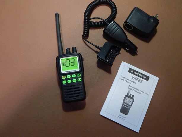  Log In needed $25 · VHF Marine Handheld Radio HT - West Marine VHF-85