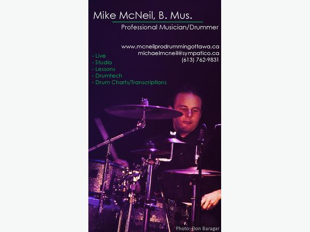 Drum Charts, Transcriptions, Notation and Copyist Service