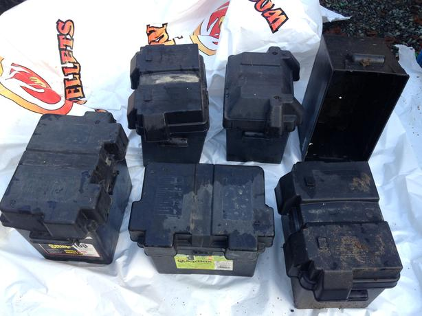 Battery boxes - $15