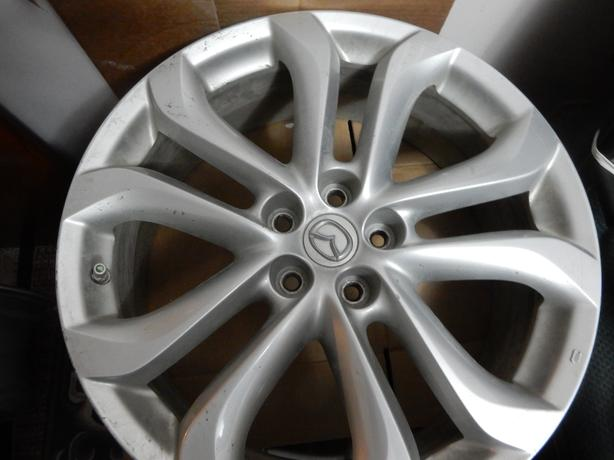 MADA 20 INCH CX9 SILVER RIMS WITH TPMS					MAZDA CX9