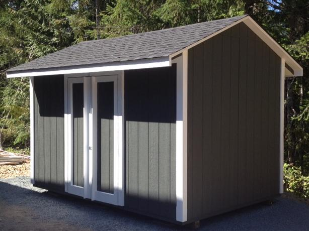 CROSSLAND STORAGE SHEDS. BUILT ON YOUR LAND !