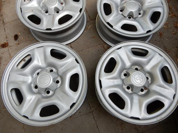 15 INCH stock steel rims  Toyota tacomJAAY 0004