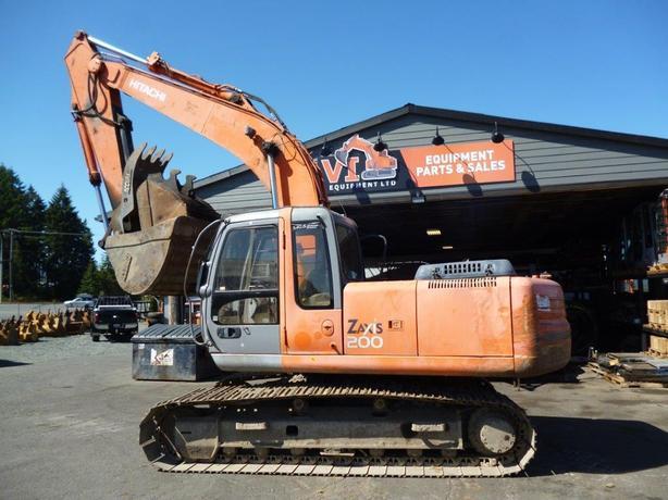 Hitachi ZX200 Excavator Parts
