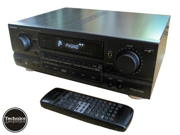 AV Stereo Receiver w/ Phono Stage