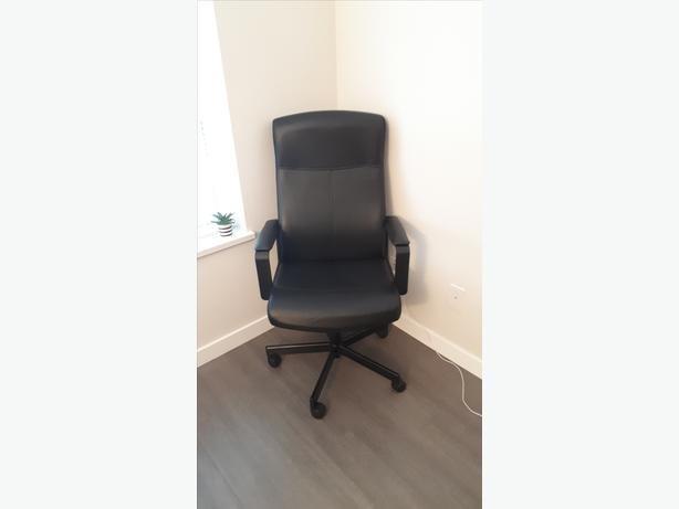 Brand-New, Fully Assembled IKEA MILBERGET Adjustable Office Chair