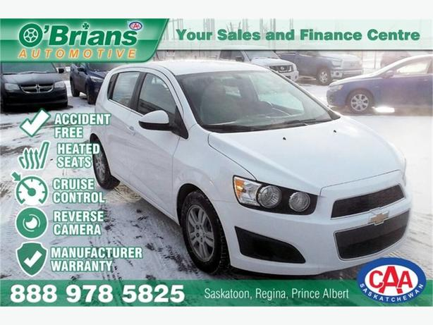 2016 Chevrolet Sonic LT Accident Free! w/Mfg Warranty