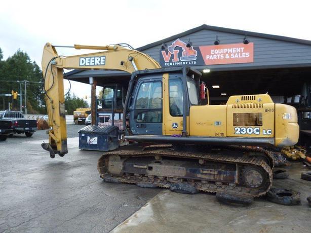 John Deere 230C LC Excavator Parts