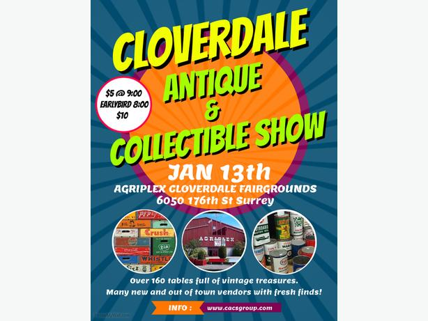 Cloverdale Antique & Collectible Show