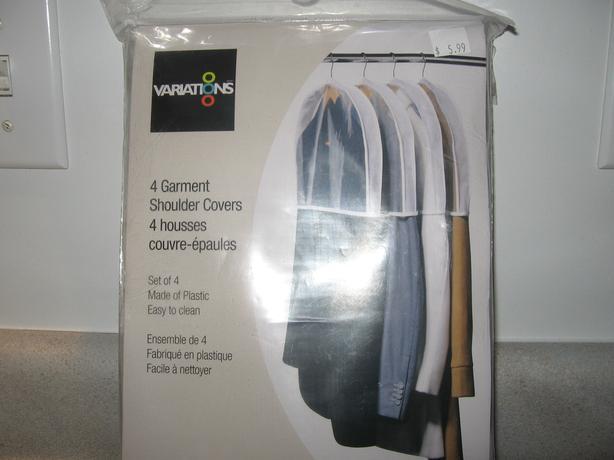 Closet Garment Shoulder Covers