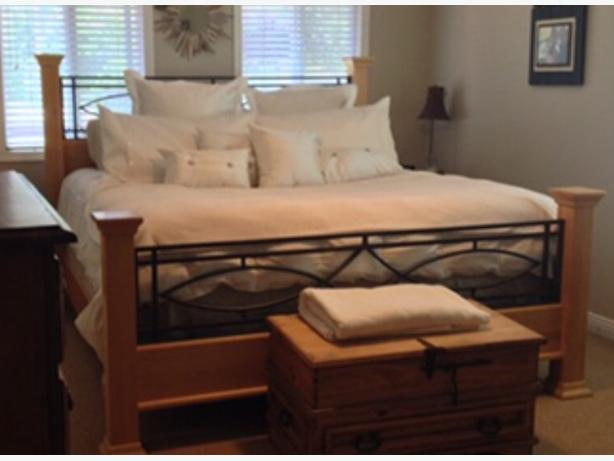 King size bed frame
