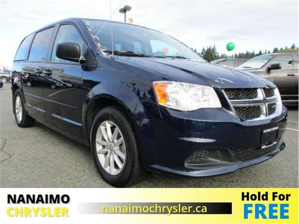2015 Dodge Grand Caravan SXT Low Kilometers No Accidents