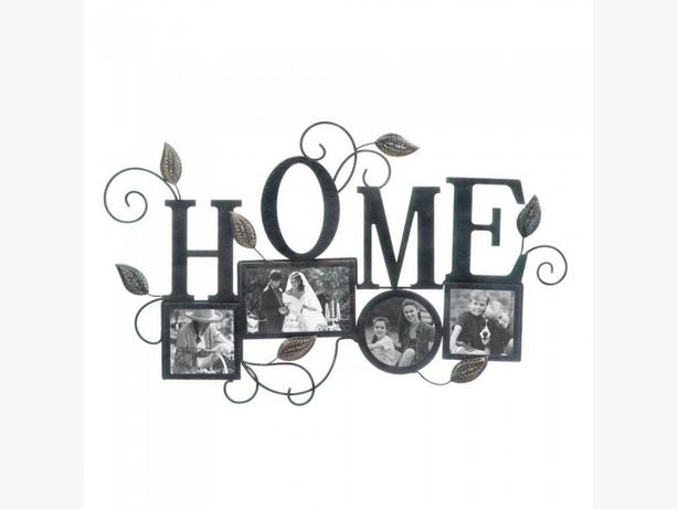 Tabletop HOME Sentiment Plaque Wall Decor Photo Frame 3PC Mixed Lot New