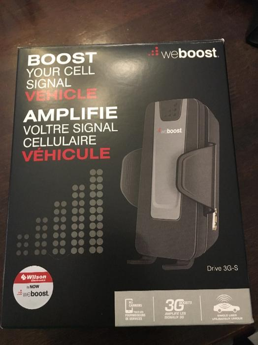 $80 · weboost wilson 3G cell phone booster