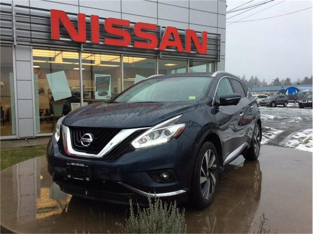 2015 Nissan Murano Platinum Campbell River, Comox Valley