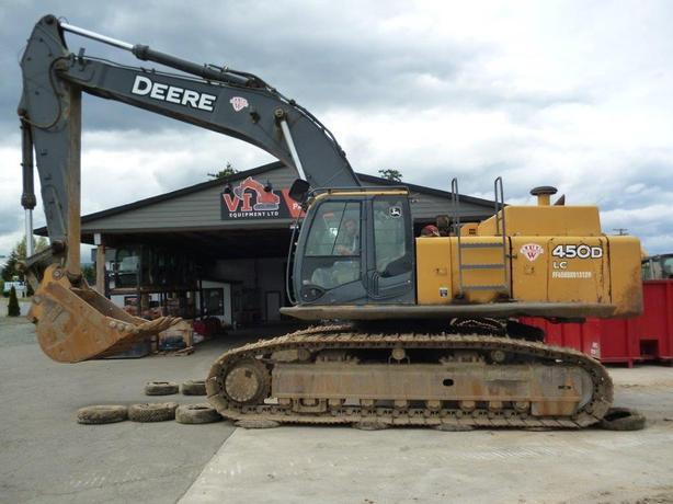 John Deere 450D LC Excavator Parts