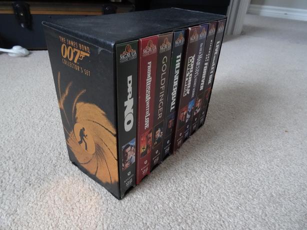 James Bond 007 VHS Collector's Set for sale