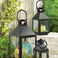Indoor Outdoor Classic Black Candle Lantern Large Loop Handle 3 Lot New