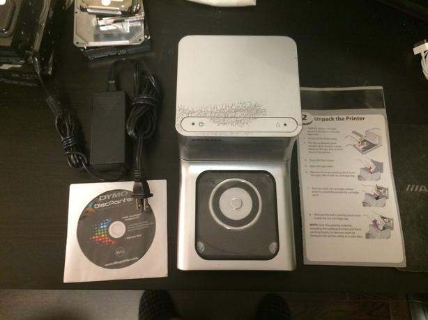 Dymo Disc Painter, color CD / DVD / Blu-Ray printer
