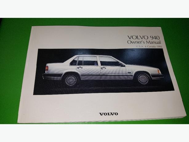 1992 volvo 940 owners manual west shore langford colwood metchosin rh usedvictoria com 1992 volvo 240 owners manual 1992 volvo 940 gl owners manual
