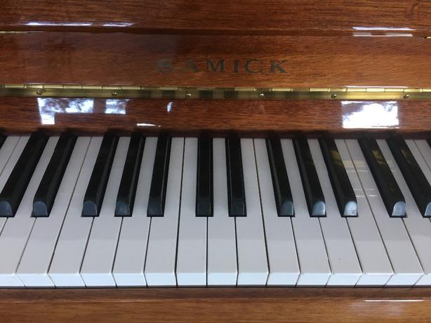 Samick upright Piano-excellent condition