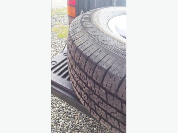 GMC Siera 1500 pick up truck tires