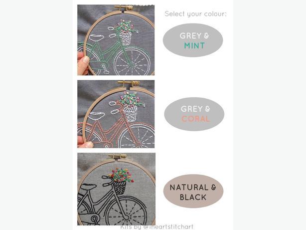 I Heart Stitch Art Embroidery Kits