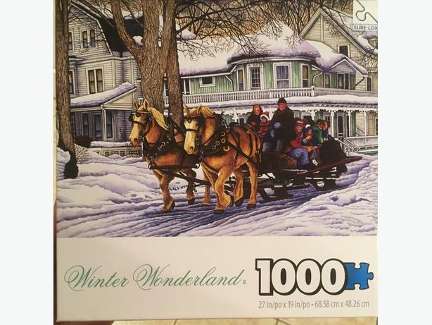 1000 piece puzzle WINTER WONDERLAND