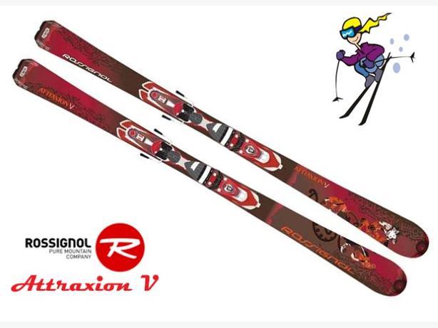 162cm Rossignol Attraxion V ~ Women's performance