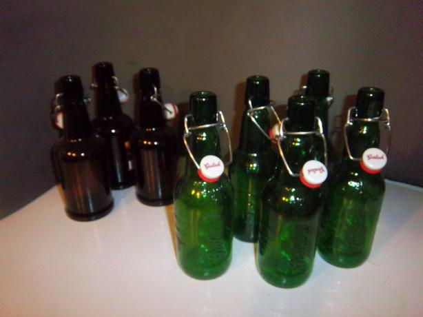 Beer and wine making bottles